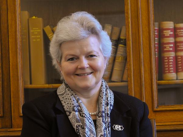 Catriona Reynolds, Chairman of the Society