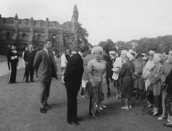 The Holyrood Garden Party, marking 150 years.